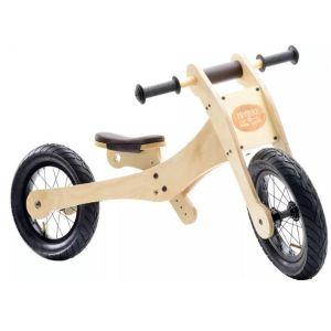 Triciclo - Bicicleta sin pedales evolutivo de madera Trybike