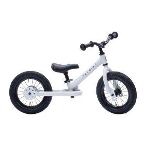 Bicicleta sin pedales Trybike blanca