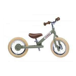 Bicicleta sin pedales Trybike Vintage verde
