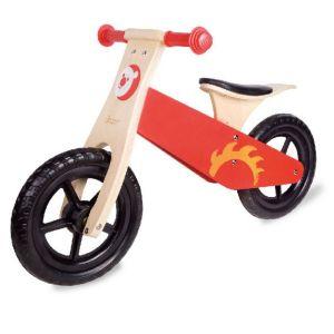 Bicicleta sin pedales Roja Classic World