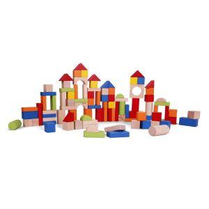 Bloques de construcción (100 piezas) Classic World