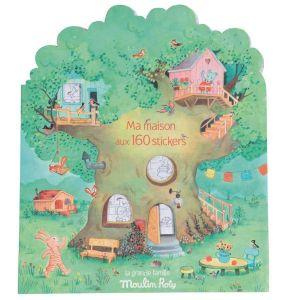 Cuaderno de pegatinas Gran Familia Moulin Roty