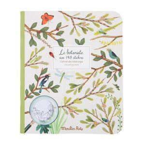 Cuaderno de pegatinas El Botanista Moulin Roty