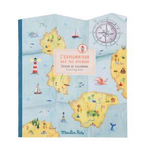 Cuaderno de pegatinas El Explorador Moulin Roty