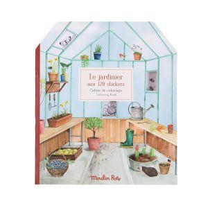 Cuaderno de pegatinas El Jardinero Moulin Roty