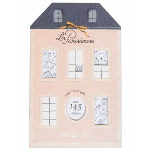 Cuaderno de pegatinas Las Parisinas Moulin Roty