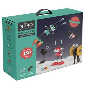 Kit de construcción Misión Espacial The Offbits