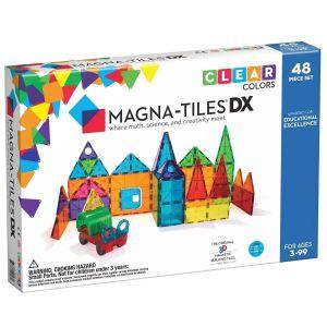 Magna-Tiles DX (48 piezas) Juego de construcción magnético