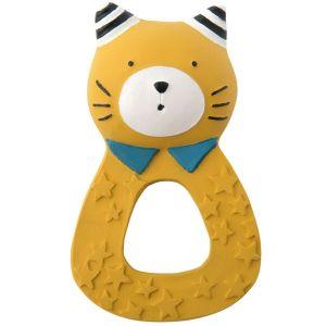 Mordedor anilla gato mostaza Moustaches Moulin Roty