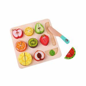 Puzzle Cortar Frutas Classic World