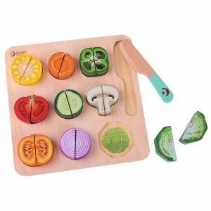 Puzzle Cortar Verduras