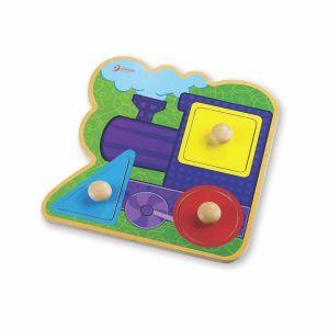 Puzzle Tren Classic World