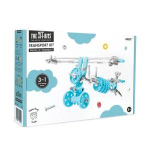 Kit de construcción Transporte 3 en 1 AirBit The Offbits