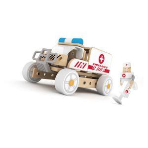 Set de construcción Ambulancia Classic World