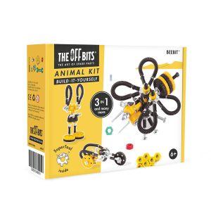 Kit de construcción Animal 3 en 1 BeeBit The Offbits
