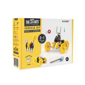Kit de construcción Vehículo 3 en 1 BlazeBit The Offbits
