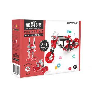 Kit de construcción Vehículo 3 en 1 ChopperBit The Offbits