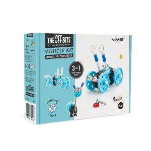 Kit de construcción Vehículo 3 en 1 GearBit The Offbits