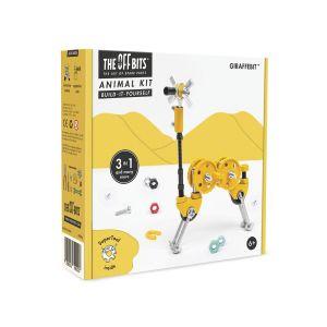 Kit de construcción Animal 3 en 1 GiraffeBit The Offbits