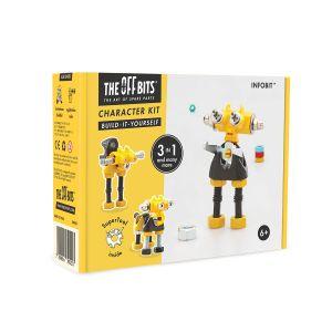 Kit de construcción Robot 3 en 1 Infobit The Offbits