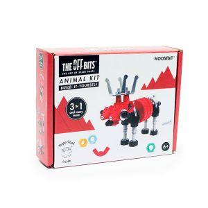Kit de construcción Animal 3 en 1 MooseBit The Offbits