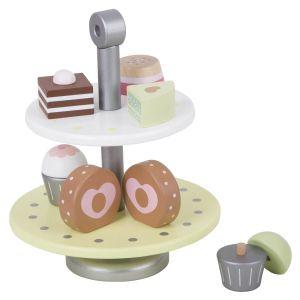 Set de cupcakes de madera Classic World