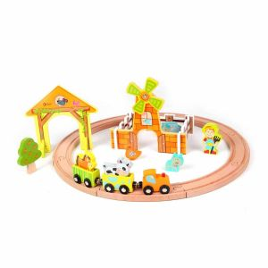 Set de tren Granja Classic World