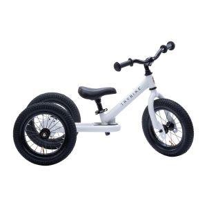 Triciclo - Bicicleta sin pedales Trybike blanca