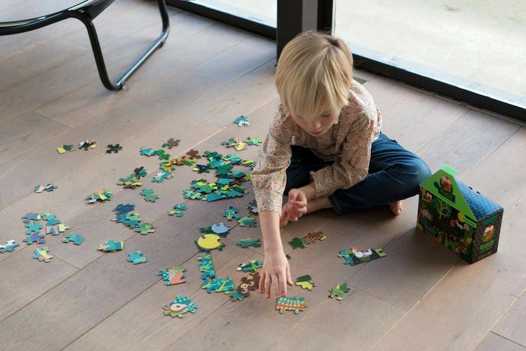 Por qué regalarle un puzzle a tu peque