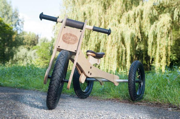 ¿Conoces los beneficios de una bicicleta sin pedales?